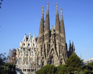 Sagrada familia Gaudí Best works of Gaudí