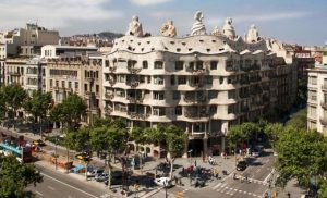 Casa Milá Barcelona Best works of Gaudí