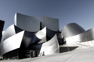 Walt Disney Concert Hall - 10 famous works of Frank Gehry