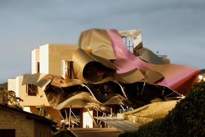Marques de Riscal - 10 famous works of Frank Gehry