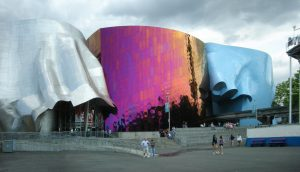 Experience Music Project - 10 famous works of Frank Gehry