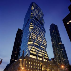 10 Famous works of Norman Foster - Hearst Tower