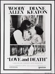 Love and death - 10 famous movies of Woody Allen
