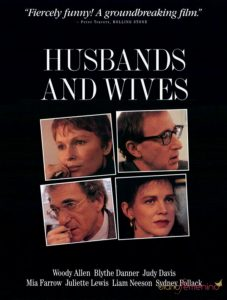 Husbands and Wifes - 10 famous movies of Woody Allen