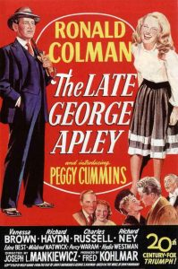 The late George Apley - 10 famous movies of Mankiewicz