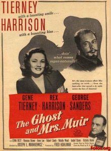 The ghost and Mrs Muir - 10 famous movies of Mankiewicz