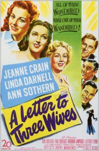 A letter to three wives - 10 famous movies of Mankiewicz