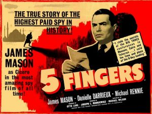 Five Fingers - 10 famous movies of Mankiewicz