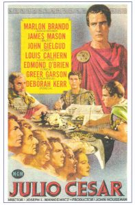 Julius Caesar - 10 famous movies of Mankiewicz