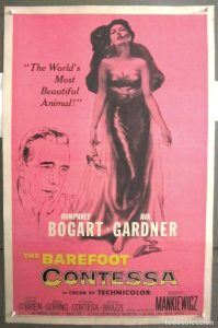 The Barefoot Countess - 10 famous movies of Mankiewicz