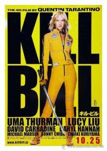 Kill Bill Volumen 1 - 10 famous movies of Tarantino