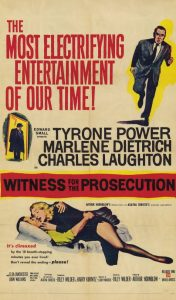Whitness for Prosecution - 10 famous movies of Billy Wilder