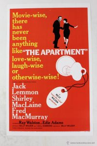 The apartment - 10 famous movies of Billy Wilder