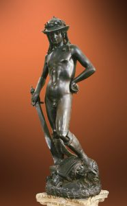 David of 10 famous works of Donatello