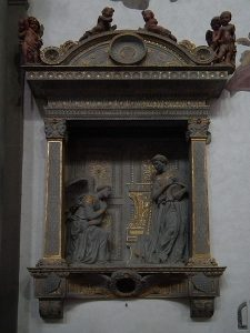10 famous works of Donatello - The Annunciation Cavalcanti