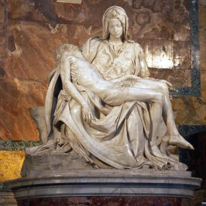The Pietá - 10 most famous works of Michelangelo
