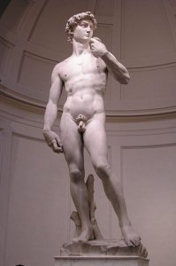 David - 10 most famous works of Michelangelo