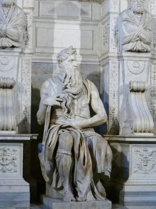 Moses - 10 most famous works of Michelangelo