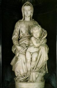 Madonna of Bruges - 10 most famous works of Michelangelo