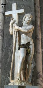 Risen Christ - 10 most famous works of Michelangelo