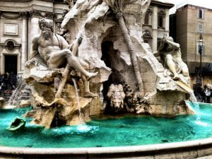 Fountain of the Four Rivers of Bernini