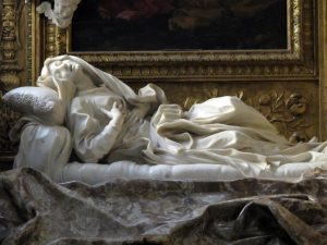 Ecstasy of Blessed Ludovica Albertoni of Bernini