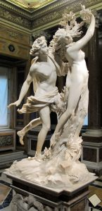 Bernini best works Apollo and Daphne