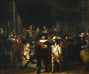 The Night Watch of Rembrandt