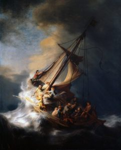 The storm in the Sea of ​​Galilee 10 Famous Works of Rembrandt