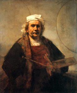 Self-portrait with two circles 10 famous works of Rembrandt