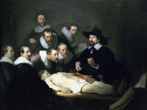 Anatomy lesson by Dr. Nicolaes Tulp Rembrandt