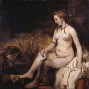 Bathsheba at her Bath 10 Famous Works of Rembrandt