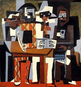 Three Musicians - 10 most famous works of Picasso