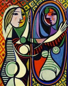 Girl Before a Mirror - 10 most famous works of Picasso