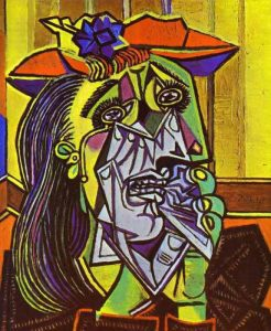 Weeping Woman - 10 most famous works of Picasso