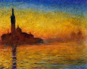 Saint-Georges Majeur au Crepuscule - 10 Famous Works of Monet