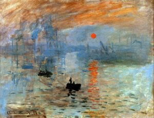 10 Famous Works of Monet - Impression Soleil Levant
