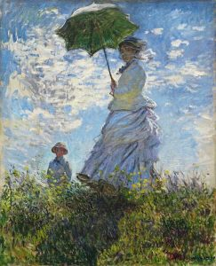 Woman with Umbrella - 10 Famous Works of Monet