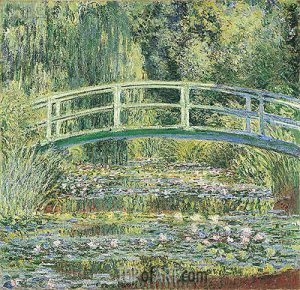 Bridge over a Pond of Water Lilies - 10 Famous Works of Monet