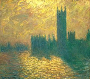 Houses of Parlaments - 10 Famous Works of Monet