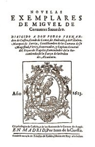 10 famous works of Cervantes- Exemplary Novels