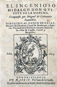 10 famous works of Cervantes - Don Quixote