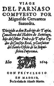 10 famous works of Cervantes - The trip of Parnassus