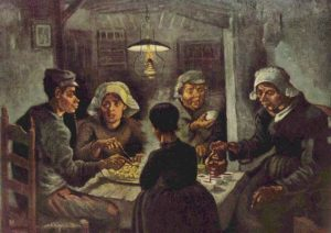 Most important works of Van Gogh - The potato Eaters