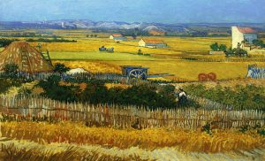 The Harvest - One of the most important works of Van Gogh