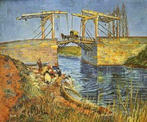 Van gogh and his Langlois Bridge