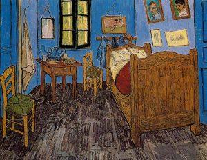 Bedroom in Arles - Important works of Van Gogh