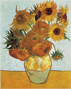 Sunflowers of Van Gogh