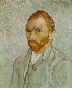 Van Gogh Painting himself