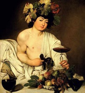 Bacchus one of the most important works of Caravaggio